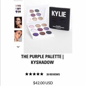 Kylie Kyshadow Purple Palette